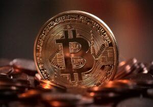 Symbol najpopularnijeszej kryptowaluty - Bitcoina