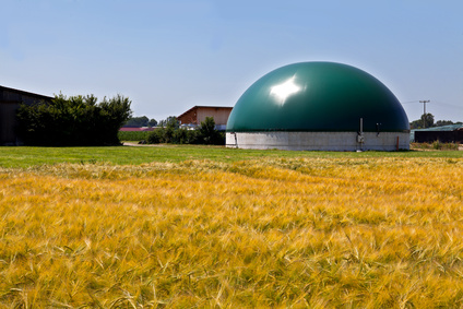 biogazownia na polu