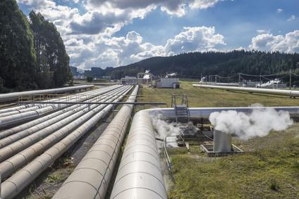Elektrownia geotermalna w Nowej Zelandii