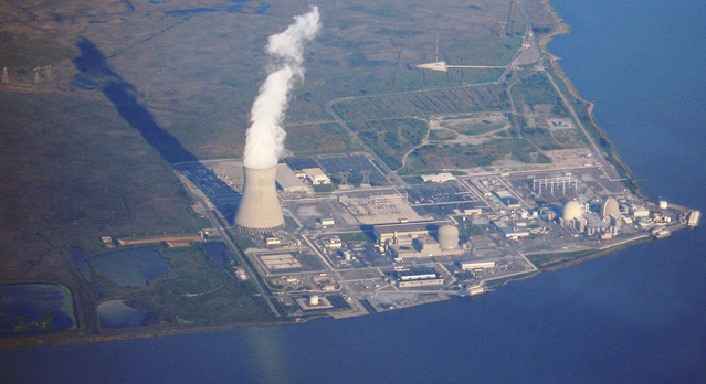 elektrownia atomowa nad wodą