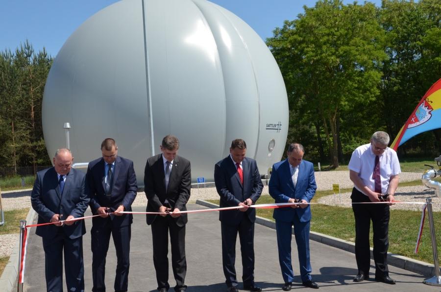 otwarcie biogazowni w Siemiatyczach