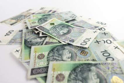polskie pieniądze 100-złotowe