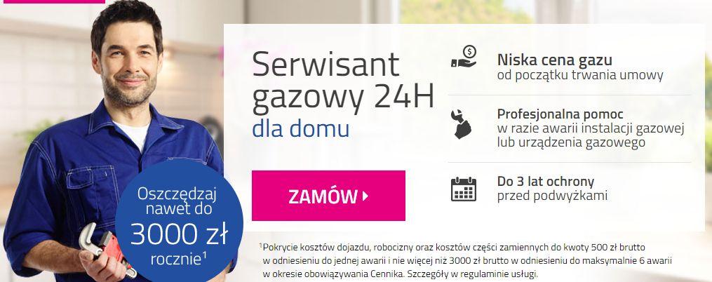 banner oferty Serwisant gazowy 24h