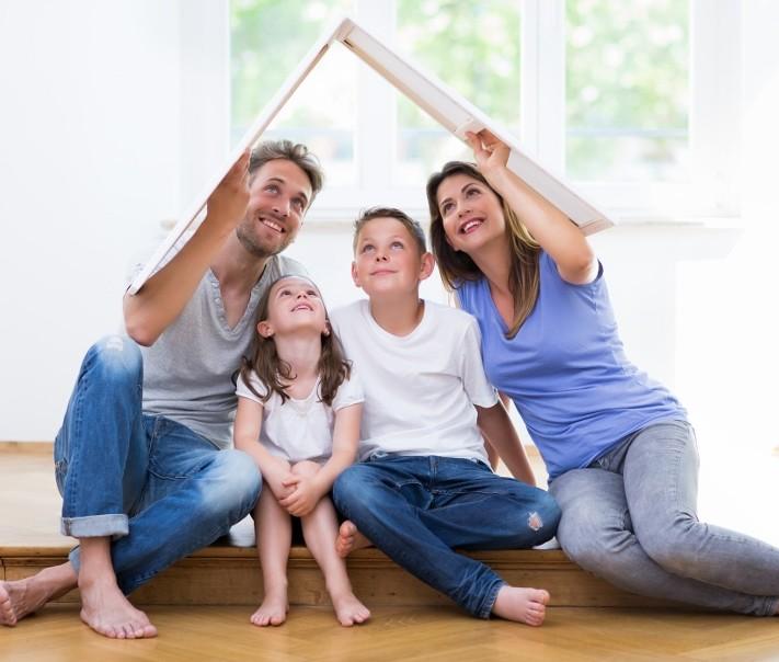 Mieszkanie Plus - szczęśliwa rodzina