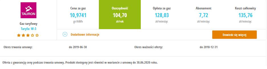 W Ultra Ogrzewanie gazowe w mieszkaniu - koszty | enerad.pl VO06