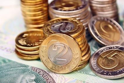 polskie złotówki z kredytu gotówkowego
